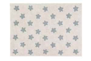 Stars Natural Vintage Blue - Lorena Canals