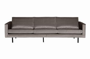 Be Pure Sofa trzyosobowa Rodeo aksamitna taupe 12