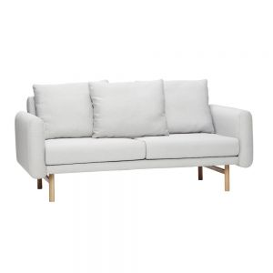 Sofa Tkanina Szara For 2 ~ Hubsch