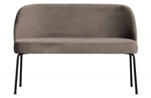 Be Pure Ławka sofa Vogue velvet nougat